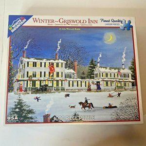 White Mountain Puzzles Griswold In  1000 Pieces